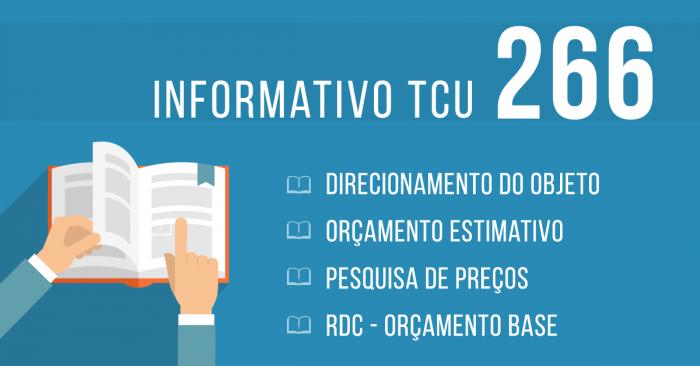 informativo tcu 266 licitações
